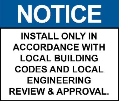 InstallationNotice Production Instructions