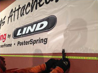 Banner featuring the Lind logo