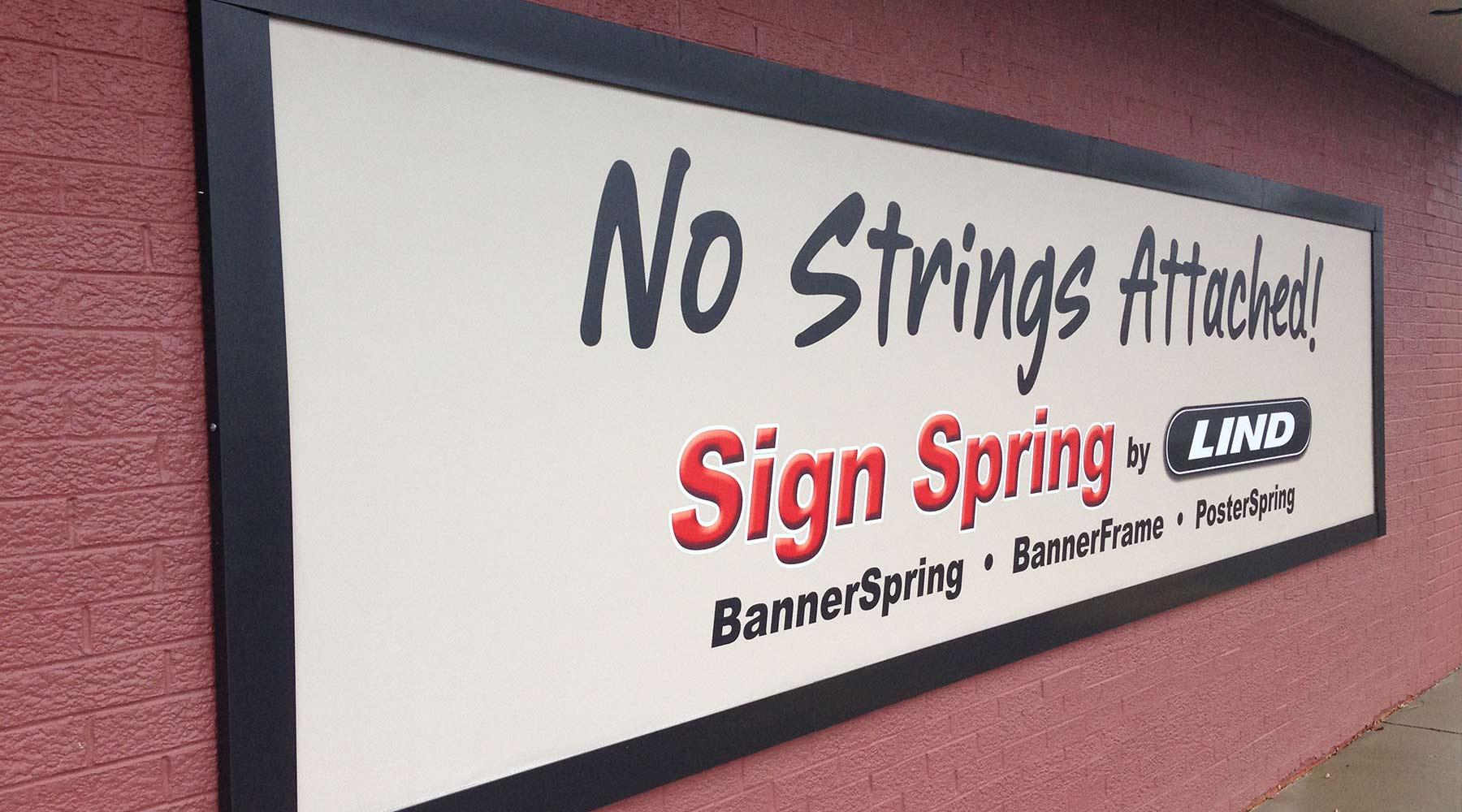 Lind SignSpring Sign