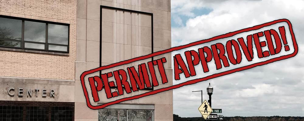 Permit approved signspring