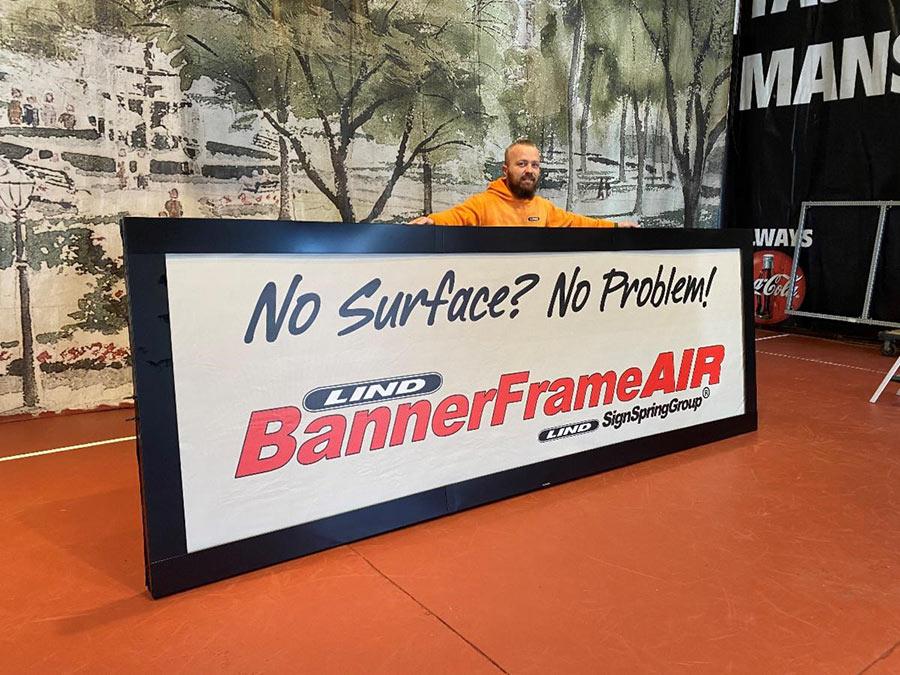 BannerFrameAIR Fully Assembled