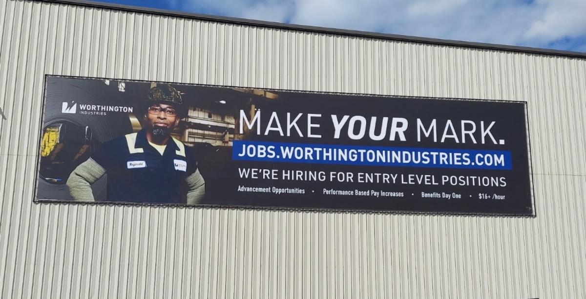 BannerFrameCLASSIC Worthington Industries Banner