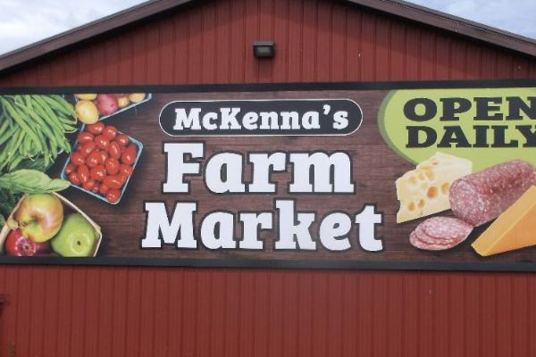10x32-BannerFrame Signage Solution for Metal Siding?